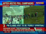 PM Narendra Modi offers prayer at Kedarnath temple