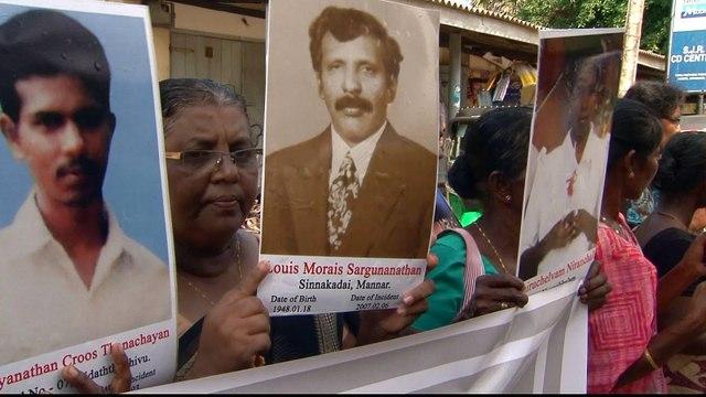 Sri Lanka's war: Victims demand justice for rights violations