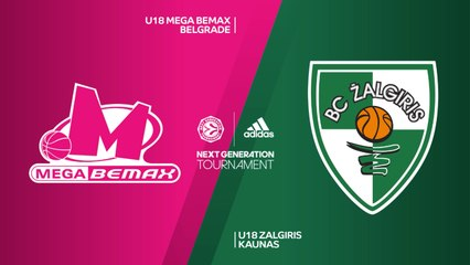 EB ANGT Finals Highlights: U18 Mega 75-61 U18 Zalgiris