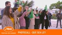 QUE SEA LEY - Photocall -  Cannes 2019 - VF