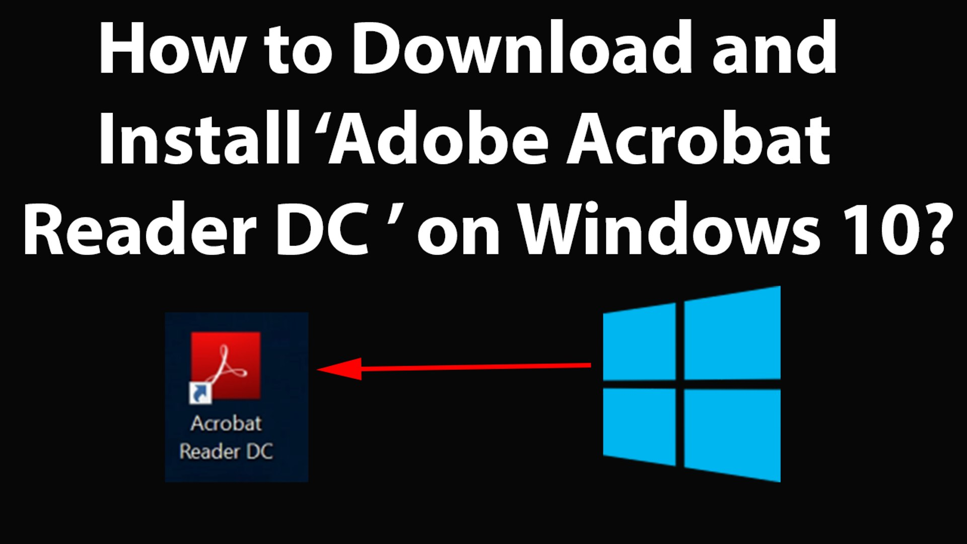 trouble downloading adobe reader