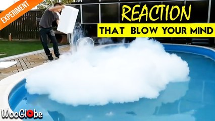 What Happened If You Through 15KG Dry Ice Into the pool