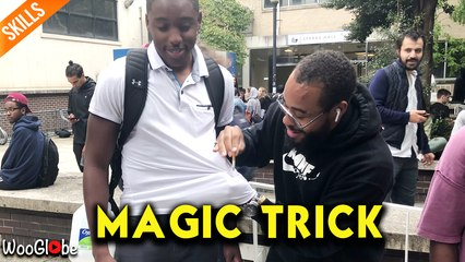 Unbelievable magic - Lightskini back at it again