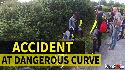 Presence of Mind Saved the Cyclist