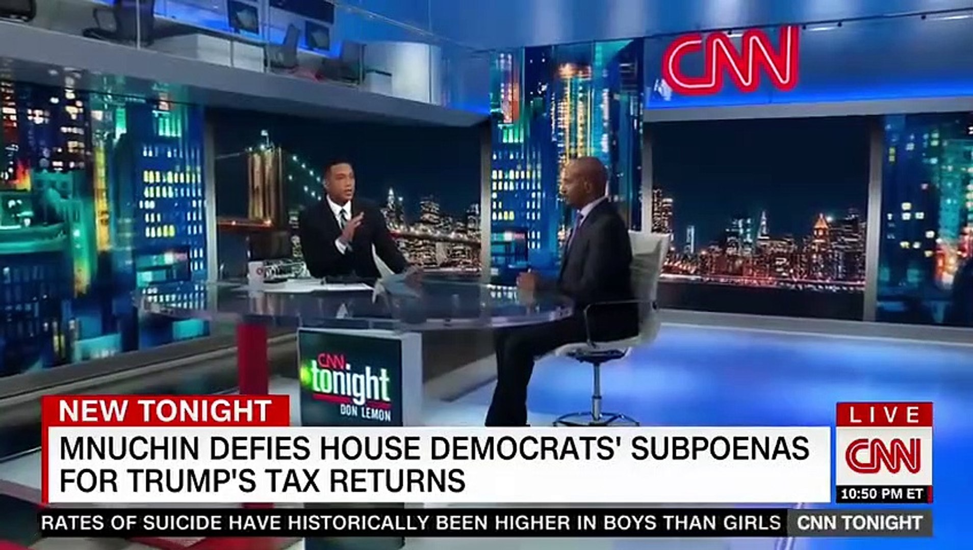 CNN Tonight with Don Lemon 11PM 5-17-19 - Trump Breaking News Today May 17, 2019