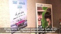 """Cannes: Lelouch présente la suite d'""""un homme et une femme"""""""