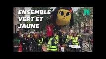 Les gilets jaunes et les anti-Monsanto ont manifesté ensemble