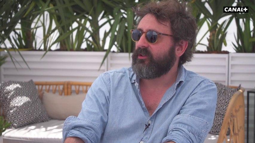Souvenirs de Cannes de Quentin Dupieux, Jean Dujardin et Adèle Haenel - Le daim  - Cannes 2019