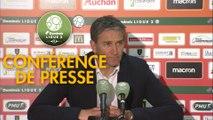 Conférence de presse RC Lens - US Orléans (5-2) : Philippe  MONTANIER (RCL) - Didier OLLE-NICOLLE (USO) - 2018/2019