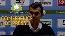 Conférence de presse ESTAC Troyes - AC Ajaccio (0-0) : Rui ALMEIDA (ESTAC) - Olivier PANTALONI (ACA) - 2018/2019