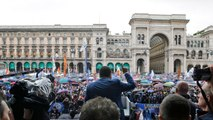 Far-Right EU Parties Rally In Milan Prior To Election
