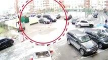 Une tentative remarquable d'arrestation de fugitifs par la police Russe