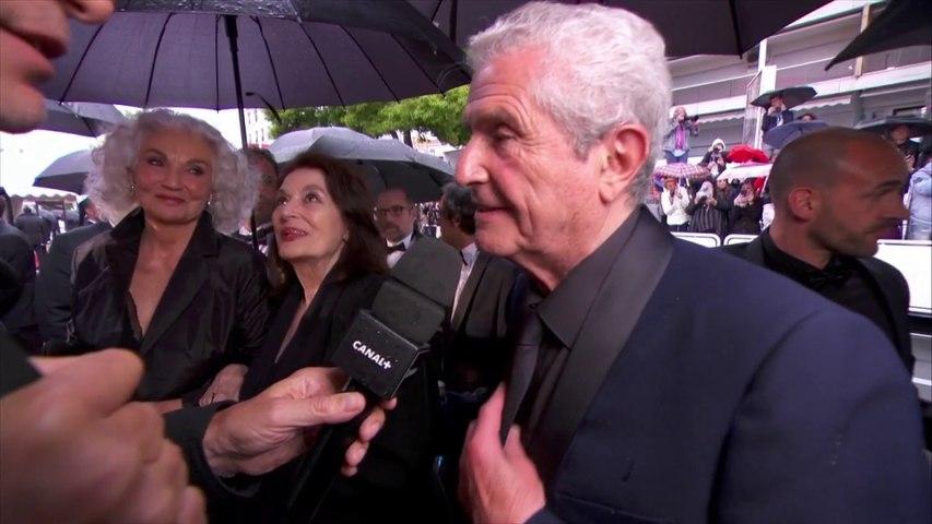 """Avec ce film, on va de miracle en miracle"""" Claude Lelouch - Cannes 2019"""