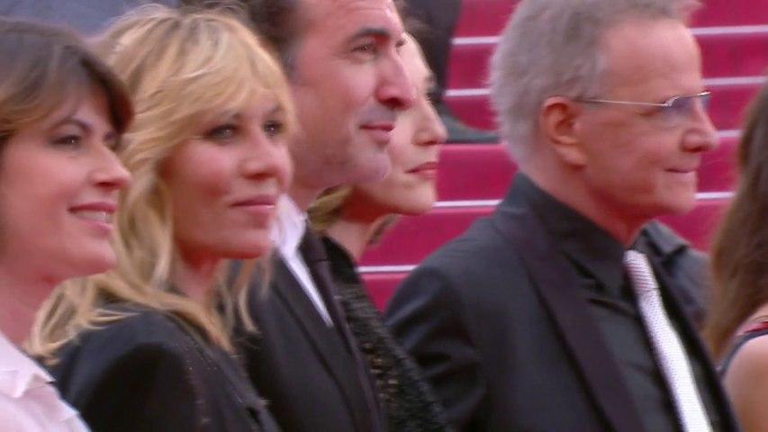 J. Dujardin, E. Zylberstein, A. Dana, C. Lambert, G. Darmon, M. Seigner  - Cannes 2019
