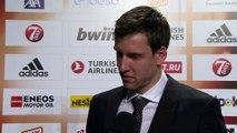 Season MVP Jan Vesely Interview