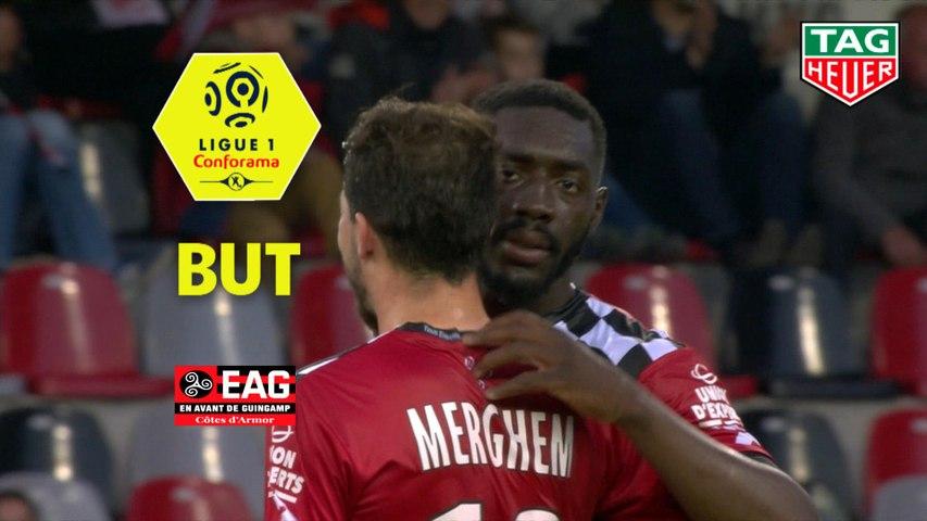 But Alexandre MENDY (35ème) / EA Guingamp - Nîmes Olympique - (2-2) - (EAG-NIMES) / 2018-19