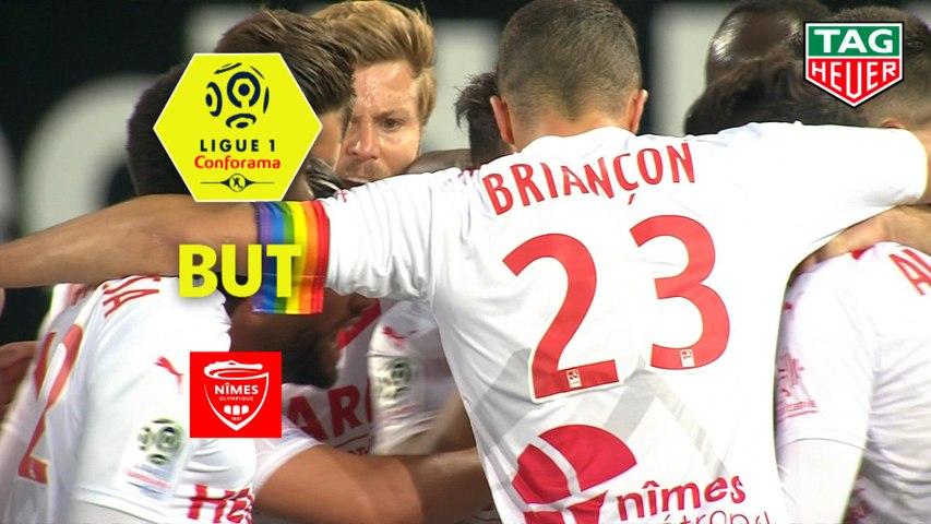 But Denis BOUANGA (56ème) / EA Guingamp - Nîmes Olympique - (2-2) - (EAG-NIMES) / 2018-19