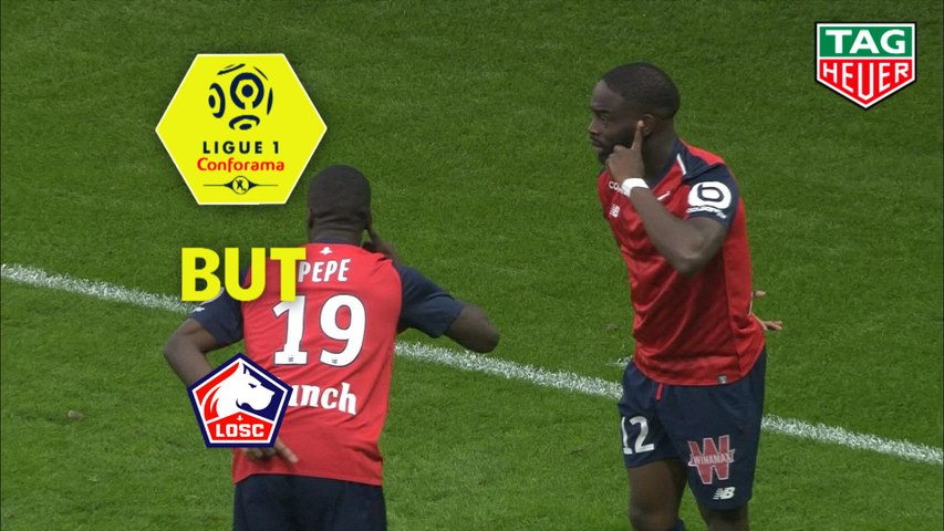 But Jonathan IKONE (2ème) / LOSC - Angers SCO - (5-0) - (LOSC-SCO) / 2018-19