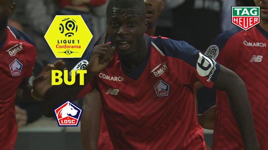 But Nicolas PEPE (14ème) / LOSC - Angers SCO - (5-0) - (LOSC-SCO) / 2018-19