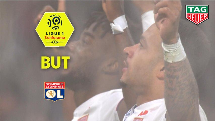 But Memphis DEPAY (49ème) / Olympique Lyonnais - SM Caen - (4-0) - (OL-SMC) / 2018-19