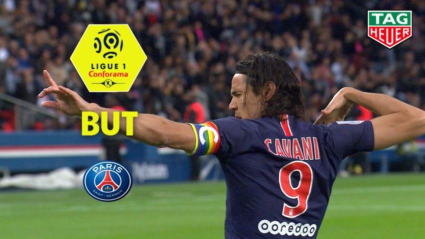 But Edinson CAVANI (4ème) / Paris Saint-Germain - Dijon FCO - (4-0) - (PARIS-DFCO) / 2018-19
