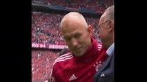 34e j. - Le sourire de Robben, les larmes de Ribéry