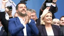 European far-right populists rally with Matteo Salvini in Milan
