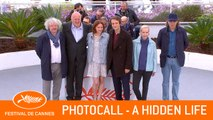 A HIDDEN LIFE - Photocall - Cannes 2019 - EV