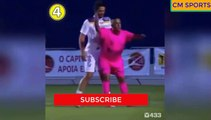Players vs referees football fights - Football referees  most funny moments
