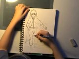 dessins mangas (le 4eme hokage)