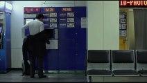 Disgraced Korean salaryman confronts a homeless woman on the train   Korean Short Film