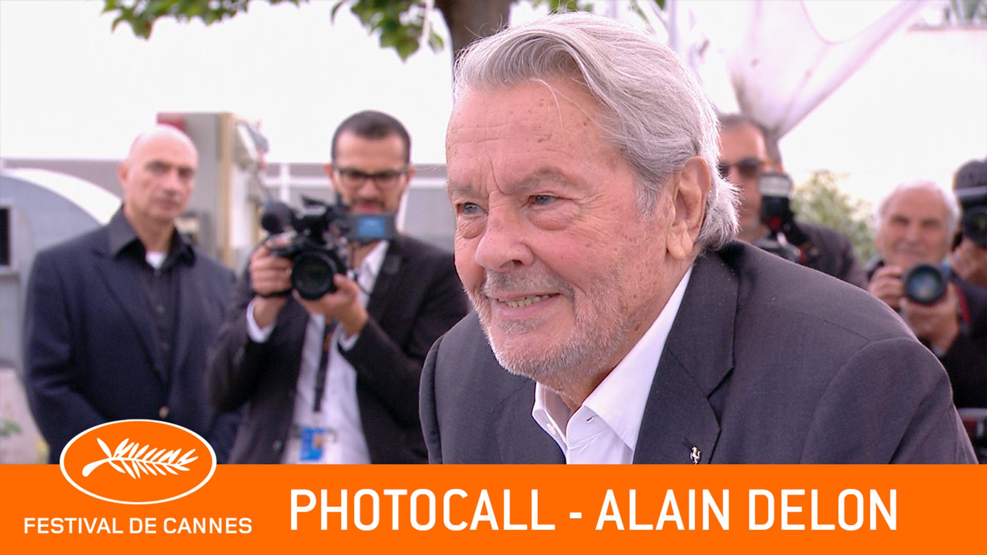 ALAIN DELON - Photocall - Cannes 2019 - VF