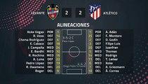 Resumen partido entre Levante y Atlético Jornada 38 Primera División