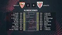 Resumen partido entre Sevilla y Athletic Jornada 38 Primera División
