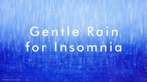 Gentle Rain Sound ,  10 HOURS - 4K,  Rain, Rain Sounds for Relaxing Sleep, insomnia, Meditation, Study, Relaxing Rain for Sleep