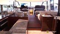 2019 Prestige 590 Luxury Yacht - Interior Deck Bridge Walkthrough - 2019 Miami Yacht Show