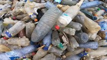 Kinshasa residents fed up of 'rivers' of plastic waste