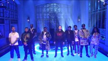 """DJ KHALED (ft SZA & MEEK MILL) """" Just Us / Weather the Storm / Higher """" Live at the SNL - 18/05/2019 (HD)."""