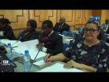 RTG/Assemblée nationale - réunion des députés membres de la commission des affaires étrangères de la coopération internationale et de la défense nationale