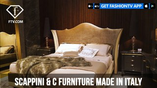 SCAPPINI & C FURNITURE MADE IN ITALY | FashionTV | FTV