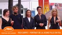 PORTRAIT DE LA JEUNE FILLE EN FEU - Red carpet - Cannes 2019 - EV