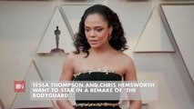 Tessa Thompson Wants To Make More Movies With Chris Hemsworth