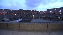 Le Colisée à la belle étoile