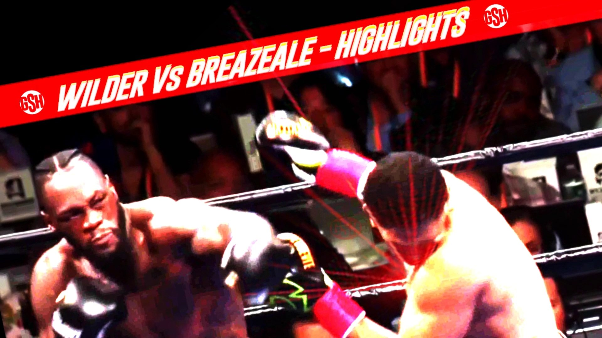 Wilder 1st Round KO Highlights -  Drontay Wilder Vs Dominic Breazeale Full Highlights