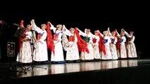 Le groupe folklorique polonais Kalina à l'espace Montrichard de Pont-à-Mousson
