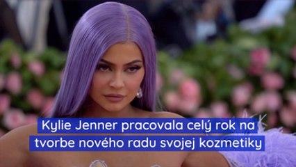 Kylie Jenner pracovala celý rok na tvorbe nového radu svojej kozmetiky