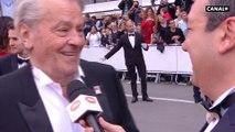 """"""" Je voulais que cette Palme d'Or revienne à mes metteurs en scène """" Alain Delon - Cannes 2019"""