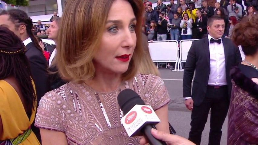 Elsa Zylberstein revient sur l'ovation faite à Claude Lelouch - Cannes 2019