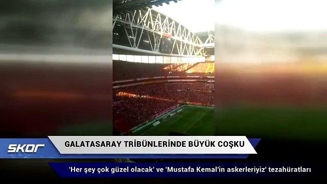 Galatasaray tribünleri hep bir ağızdan haykırdı: ''Her şey çok güzel olacak''