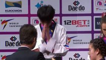 Two golds for China on final day of Taekwondo World Championships